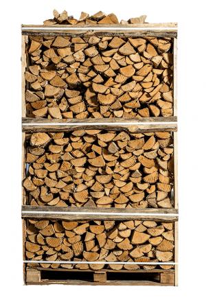 Pallet ovengedroogd berken brandhout