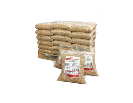 36 zakken PowerWoodPellets