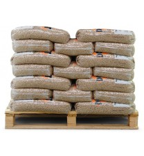 Houtpellets de Lange 50 zakken a 10kg