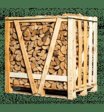 Halve pallet ovengedroogd berken brandhout