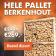 Pallet berkenhout actieprijs